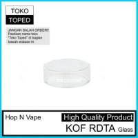 hop n vape kof rdta | pengganti glass kaca replacement