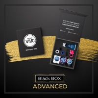 New VIVO BLACK BOX ADVANCED - Vibrator dan Pelumas Kondom bgr22