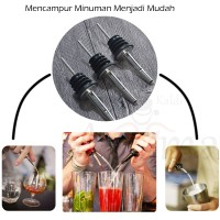 Bottle pourer / wine pourer / Penuang Minuman Stainless Steel