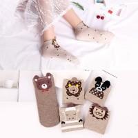 5 Pasang Kaus Kaki Wanita Korea / Kaus Kaki Pendek / Ankle Socks xg20