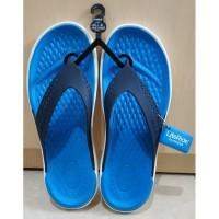 Sandal Jepit Crocs Original Lite Ride Biru