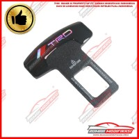 SEAT BELT BUCKLE - COLOKAN SEAT BELT - ALARM STOPPER - TRD