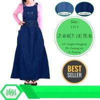 Baju Overall Anak Tanggung Bahan Jeans Dress Kodok Jumpsuits