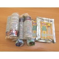 Paket Usaha Es Krim F  2x250gr Bahan Es Krim Pondan+100Pc Paper cup