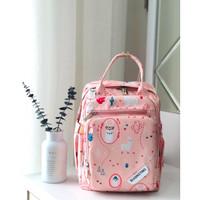 Medium Diaper Bag Fashion BQ189 / Tas Diaper Bag Sedang banyak sekat