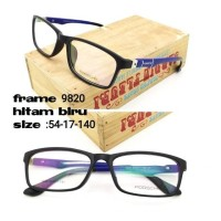 Paket Fream Kacamata Free Lensa Antiradiasi UV Normal Minus Plus