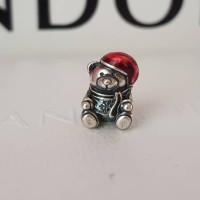Pandora Christmas Tedy Bear Charm
