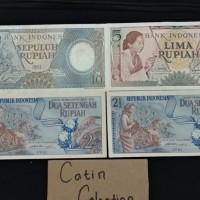 TP-567 Uang kertas mahar 20 rupiah 10p 5p 2stengah 2stengah