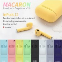 inPods 12 Macaron Earphone Bluetooth 5.0 Colourfull Airpods