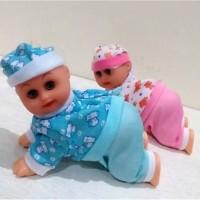 Mainan Bayi Lucu Clever Baby's Boneka Bayi Merangkak