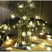Lampu String LED Snowflake Dekorasi Rumah|LED String Kamar Tidur