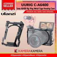 ULANZI UURIG C-A6400 Sony A6400 Rig Vlog Metal Cage Housing Case