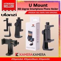 Ulanzi U Mount 360 degree Smartphone Phone Holder HP Vlog Tripod Mount