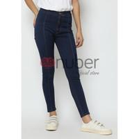 Celana Panjang Jeans Highwaist Wanita Bio Tua Stretch - Arumdalu