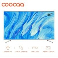 [Resmi] - Coocaa 40 inch LED Android Smart TV DVB T2 40S6G Netflix