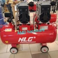 Compressor Kompresor Oilless Silent Tangki Besar 4 HP 100L OC40100 NLG