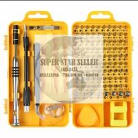 Obeng Presisi Set 110 in 1 Obeng Magnetik Perbaikan Alat Kit Alat DIY