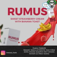 Liquid Rumus Banana Strawberry Toast by Kuro Authentic