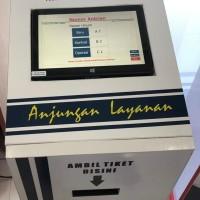 Mesin Antrian Kiosk touchscreen Loket Unlimited