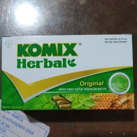 Obat Batuk Komix Herbal 6sachet @15ml