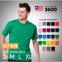 Kaos polos NSA SOFT (New states apparel) mirip gildan softstyle