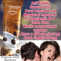 Kopi kuat obat herbal pria tahan lama penambah gairah kepuasan wanita