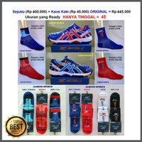 ASICS TIGER Sepatu Tennis Tenis Nike Adidas Babolat New Balance