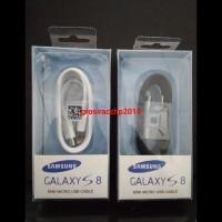 HOT SALE KABEL DATA SAMSUNG S8 TYPE C FAST CHARGING ORI 100% - Putih