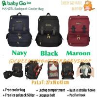 Promo Baby Go Inc Hanzel Backpack / Babygo Diaper Bag / Babygoinc Tas