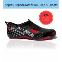 Sepatu Sepeda Motor ALL Bike AP Boots Hujan ALLBIKE Original anti air