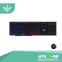 Keyboard Gaming NYK K-02 / K02 / K 02 Black Only