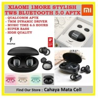 Xiaomi 1More Stylish TWS Bluetooth 5.0 Qualcomm APTX 1 More