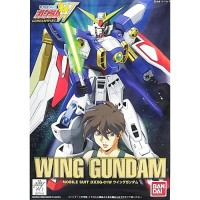 Bandai WF-01 1/144 Wing Gundam with Figure