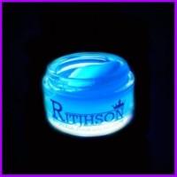 Pomade Ritjhson Glow In The Dark Sisir Free Blue Saku