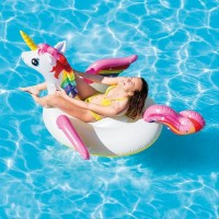 Pelampung Renang Dewasa Anak INTEX Unicorn 57561 Ride On Floaties