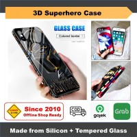 iPhone SE 2020 / 8 / 7 Casing 3D Superhero Case