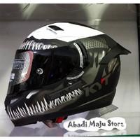 Helm KYT K2 Rider Venom Spesial Edition Black doff Paket Ganteng