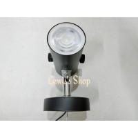 Lampu Sorot LED COB White Warm White 5 watt black hitam