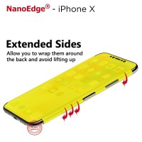 5D Full Size Front to Side Screen Guard Protector Film - iPhone X - Full Set