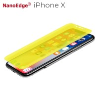 3D Full Size Curved Covered Screen Guard Protector Film - iPhone X - Full Set