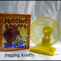 JOGGING KRUFFY wheel kincir hamster mainan