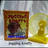 JOGGING KRUFFY wheel kincir hamster mainan hamster⠀⠀⠀