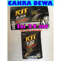 Semir Ban Mobil dan Motor KIT BLACK MAGIC TIRE GEL kemasan35 ml