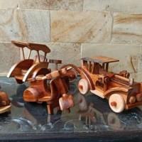 Miniatur Mobil-mobilan Kayu