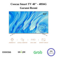 COOCAA LED TV 40 inch 40S6G Smart Android 9 Certified NETFLIX