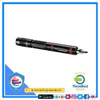 3in1 EDC Senter LED Pen Q5 1000 Lumens Pemecah Kaca