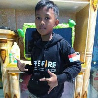 sweater hoodie anak free fire indonesia black