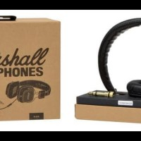 Headphone Marshall Major Premium Headphone Quality + Bonus Pouch