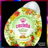 Pemutih Kulit Body Milk Castella Whitening Lotion Susu Domba Madu
