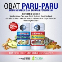 Promo Obat Paru Paru Basah Herbal De Nature